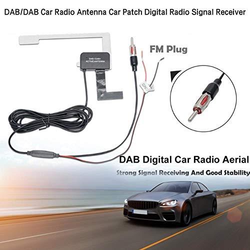 Siebdruck Patch (boastvi DAB/DAB-Autoradioantenne - Auto-Patch Digitalfunkempfänger Digitalfunk DAB-Funkempfängermodul mit eingebautem HF-Verstärker serviceable)