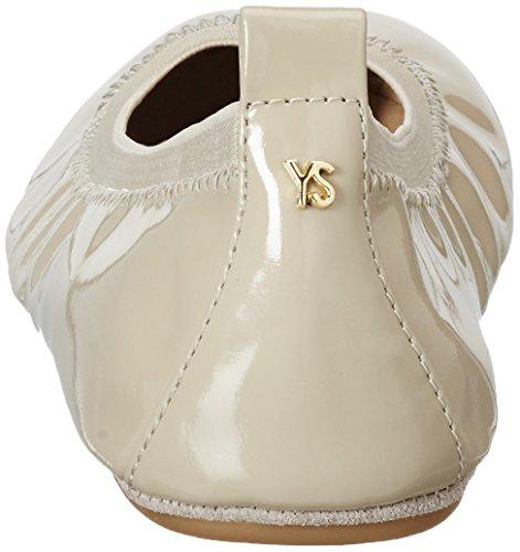 Yosi Samra Samara Flat Patent 2.0 W, Ballerines femme Taupe