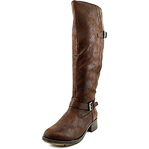 Style & Co Gayge Wide Calf Women US 6.5 Brown Knee High Boot