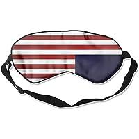 Comfortable Sleep Eyes Masks Blue American Pattern Sleeping Mask For Travelling, Night Noon Nap, Mediation Or... preisvergleich bei billige-tabletten.eu