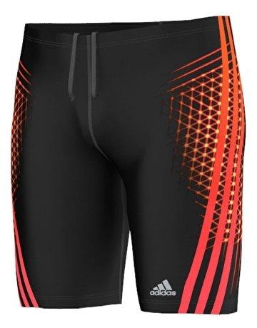 Adidas Performance Jammer Short pour homme Noir - Noir/Rouge