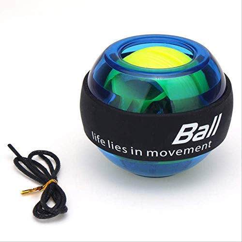 NO BRAND Gyro Powerball Led Gyro Power Wrists Bola Brazo Gimnasio en casa Deportes Fitness