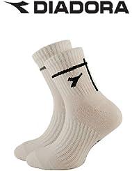 Boy 's 3pares Diadora Quarter calcetines