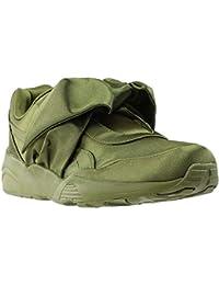 ada4e327e92 PUMA Women s Bow Sneaker Fenty by Rihanna Olive Branch Olive Branch Olive  Branch 5.5