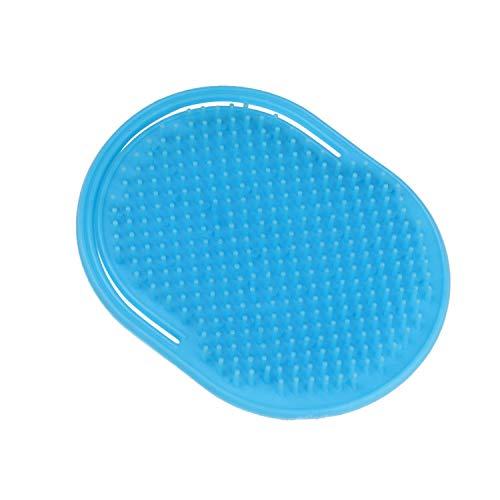1 Stück Shampoo Kamm Tasche, für Herren, Schnurrbart, Handflächen, Kopfhaut, Massage, Schwarz