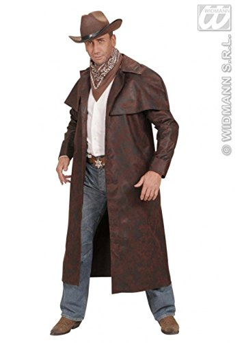 Magic Box Int. Erwachsene Mens braun Cowboy Duster Mantel Medium (37-40