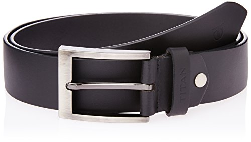 Titan Semi Formal Men's Black Leather belt (TB150LM1BKX)  available at amazon for Rs.0
