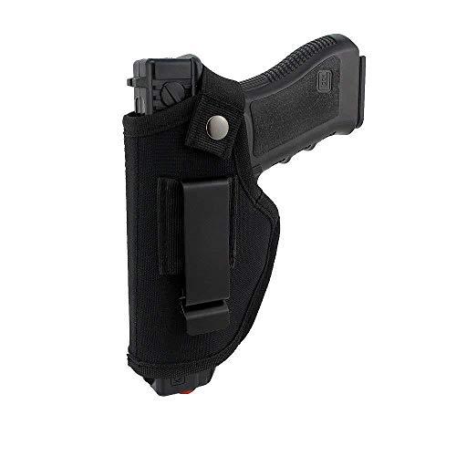 La Gracery Étui Universel pour Pistolet pour IWB OWB, Droite, Gauche, caché vers l'intérieur, pour Transporter Toutes Les Armes de Poing similaires. S & W M & P Bouclier Glock