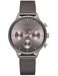 Paul Hewitt Everpulse Line - Reloj de Pulsera para Mujer con Correa de Malla, Color