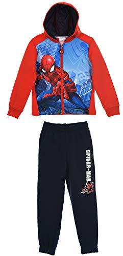 Spiderman Jungen Jogginganzug (Spiderman Kleinkind Kostüm)