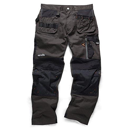 Scruffs T519943D-Arbeitshose, Größe 38L, schwarz.