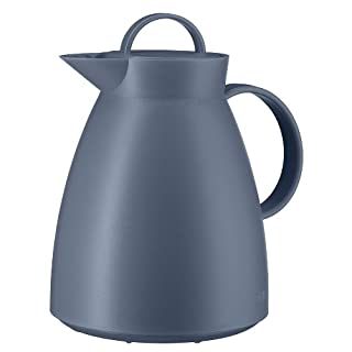 Alfi Vacuum Carafe Dan, Coffee Pot, Alu, Screwing Stopper, Vintage Indigo, 1l, 0935060100