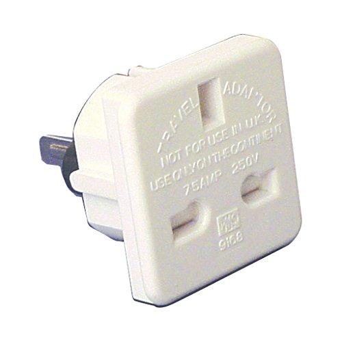 Weiß 7,5A Reise-Adapter (UK zu Australisch/US)