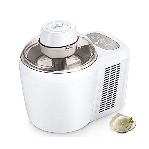 LaMei Yang Macchina Automatica per gelatiera da 600 ml, Macchina per Yogurt e Sorbetto congelata Intelligente, Chip di refrigerazione a semiconduttore, Adatto per la casa e Gli Affari