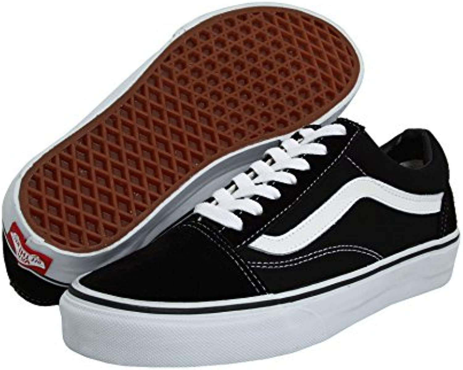 Vans Sneakers in Uumlbergrößen   Old Skool   Flame Black