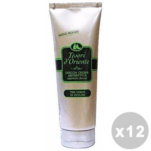 Trésors d'Orient Lot de 12 douche TE ┤ 250 ml. Les savons et cosmétiques