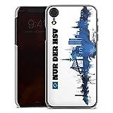 DeinDesign Hülle kompatibel mit Apple iPhone Xr Handyhülle Case HSV Hamburger SV Fanartikel Merchandise
