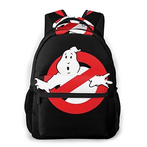 Ghostbusters Logo Casual Rucksack Schultasche wasserdichte Casual Daypacks Unisex -