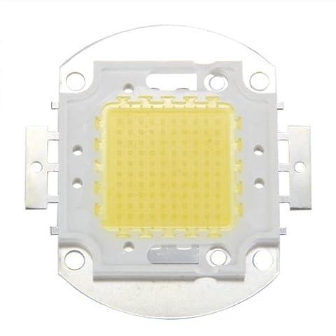 SODIAL (R) LED Chip 100W 7500LM White Light Bulb Lamp Spotlight High Power Integrated DIY