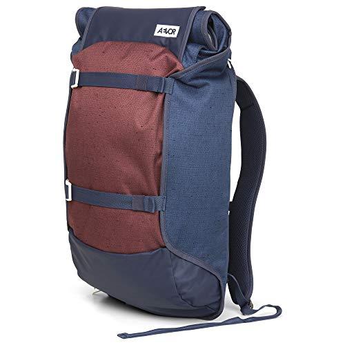 AEVOR Trip Pack Bichrome Iris - Urban Rucksack erweiterbar auf 33 Liter mit verstellbarem Brustgurt für Den Alltag -