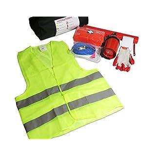 EJP-Bag Praktisches Erste-Hilfe-Set (Notfall-Set). Kofferraumtasche Passend für 206 Plus