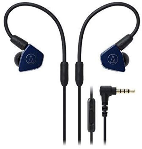 Audio-Technica ATH-LS50iSNV Live-Sound In-Ear-Kopfhörer Navy blau thumbnail