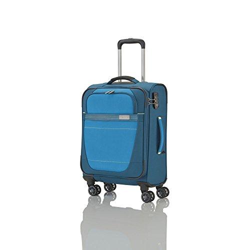 """Travelite """"Meteor"""" Größe S Koffer, 55 cm, 38 liters, Petrol , 89447-22"""