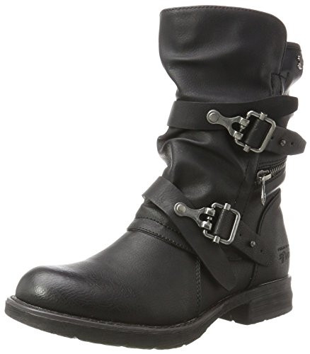Tom Tailor Damen 3795601 Stiefel, Schwarz (Dark), 39 EU