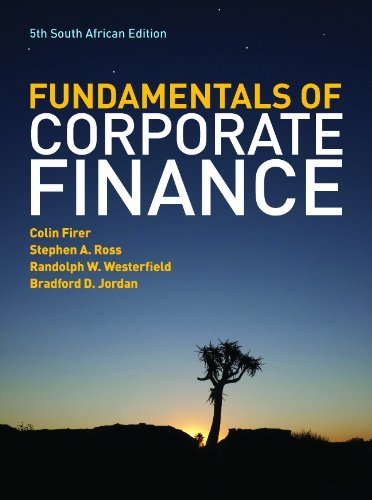 The Fundamentals of Corporate Finance - South African Edition by Colin Firer (2012-08-01)