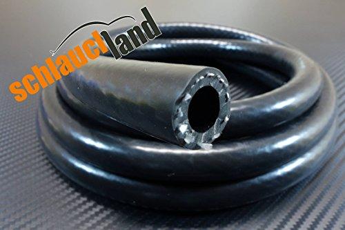 1m Silikonschlauch Vario schwarz Innendurchmesser 16mm*** Unterdruckschlauch Vakuumschlauch Kühlwasserschlauch