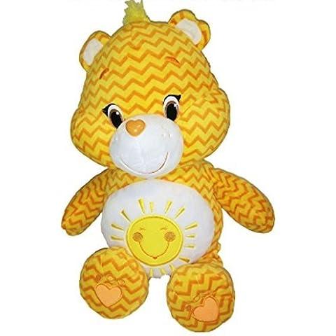 Care Bears Jumbo Zig-Zag Striped Funshine Bear by Care Bears - Jumbo Care Bears