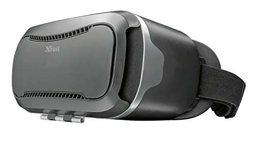 Trust Exos 2 3D-Virtual Reality-Brille (für Smartphone) schwarz