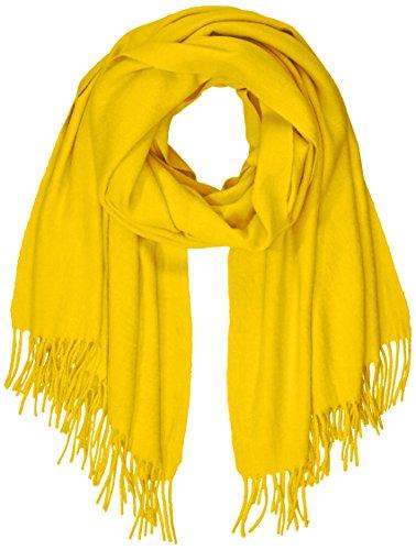 PIECES Damen PCJIRA WOOL SCARF NOOS Schal, Gelb Nugget Gold, One Size