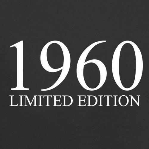 1960 Limierte Auflage / Limited Edition - 57. Geburtstag - Herren T-Shirt - 13 Farben Schwarz
