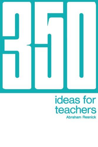 350 Ideas for Teachers