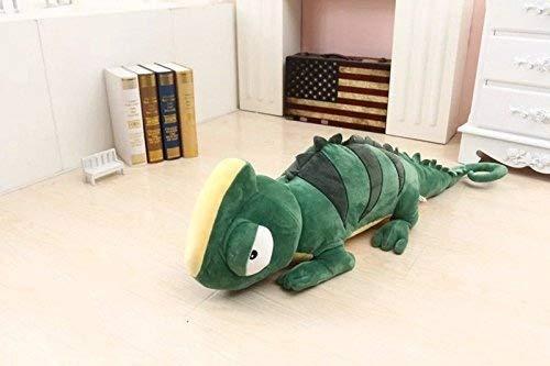 Eidechse Kissen Chamäleon Plüsch kissen Arm Support Kissen Ausgestopft Plüsch Plüschtier Spielzeug Auto Sessel Sitz Kissen (Ausgestopfte Hund Groß)