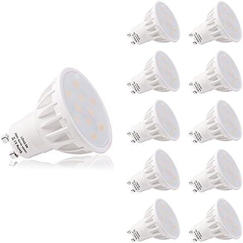 LOHAS GU10 LED 6Watt Bella 4000K Bianco Naturale Colore 50Watt