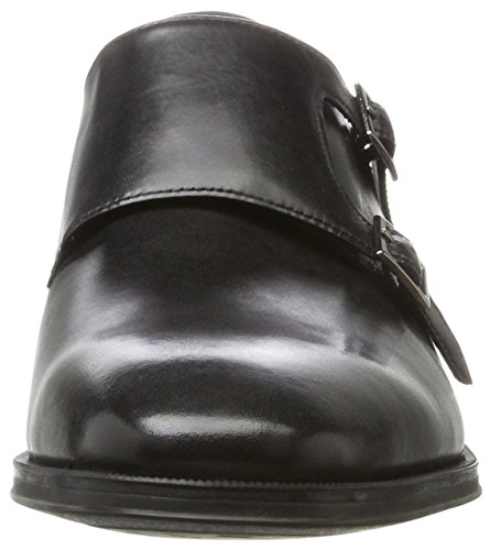 Clarks Herren Gilman Step Slipper Schwarz (Black Leather)