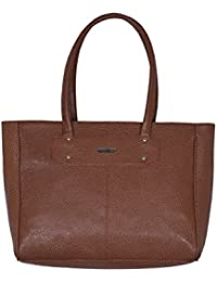Suman International PU Leather Dark Brown Chocolate Casual Handbag Shoulder Bag For Women & Girl's Office Bag