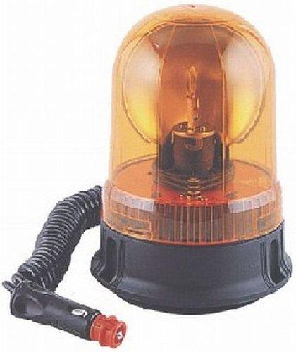 Preisvergleich Produktbild 12 Volt Rundum-Leuchte Gelb mit Magnet und Gummisauger
