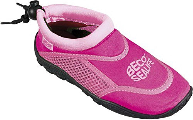 BECO  Neoprenschuhe pink Gr.6/27  1 Paar
