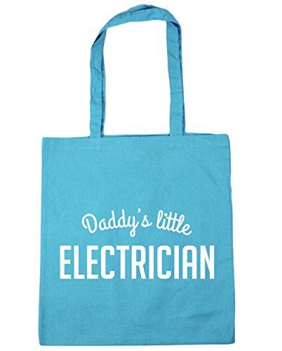 hippowarehouse 'Daddy 's Little Elektriker Tote Shopping Gym Beach Bag 42cm 3838, 10Liter,...