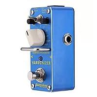 LpfbGezfnwb Harmonizer Pitch Shifter Electric Guitar Effect Pedal Mini Single Effect (Blue)