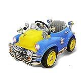 Kinder Elektroauto mit Fernbedienung Auto Spielzeugauto kann sitzen Menschen Bluetooth Musik + Swing + Fernbedienung + Trunk