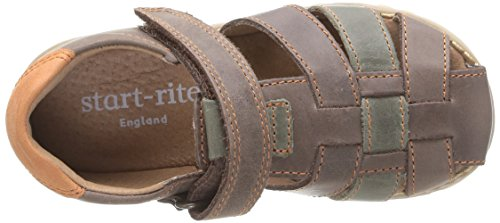 Start Rite Climb, Sandales garçon Marron (Brown)