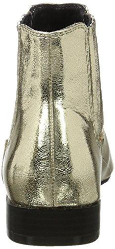 BIANCO - Metallik Chelsea Boots, Stivali Chelsea Donna Oro (gold)