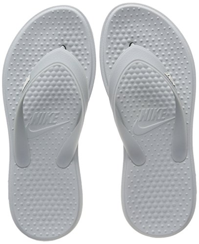 Tanga Da Uomo Nike Per Uomo E Scarpe Da Bagno Grigie (osso Leggero A Forma Di Pomice 008)