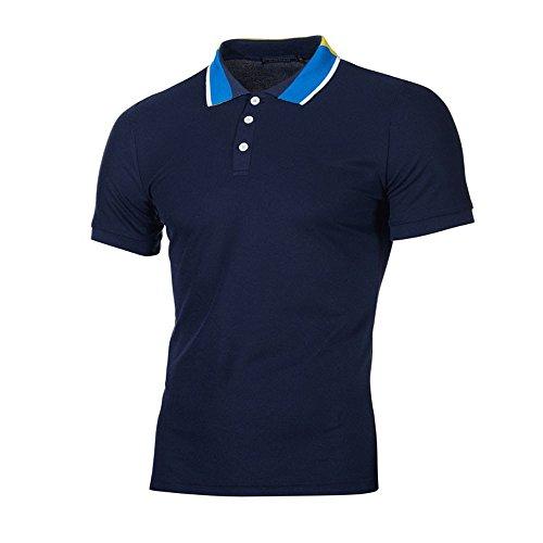 UFACE Herren Tops Slim Fit Herren Shirt v Ausschnitt Weiss Herren t-Shirts Fruit of The Loom Herren Shirt Tommy Hilfiger Herren Poloshirts Kurzarm Schwarz