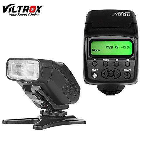 Viltrox JY610II Mini LCD Speedlite Cámara Flash Luz para Sony a9 a6500 a7sii a7rii a7s a7r a6300 a6000 a7 a3000 a58