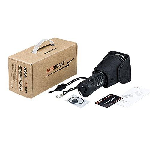 AceBeam K60 CREE XHP70 5000 Lumen 700 Meter LED Taschenlampe hellste Taschenlampe - 5